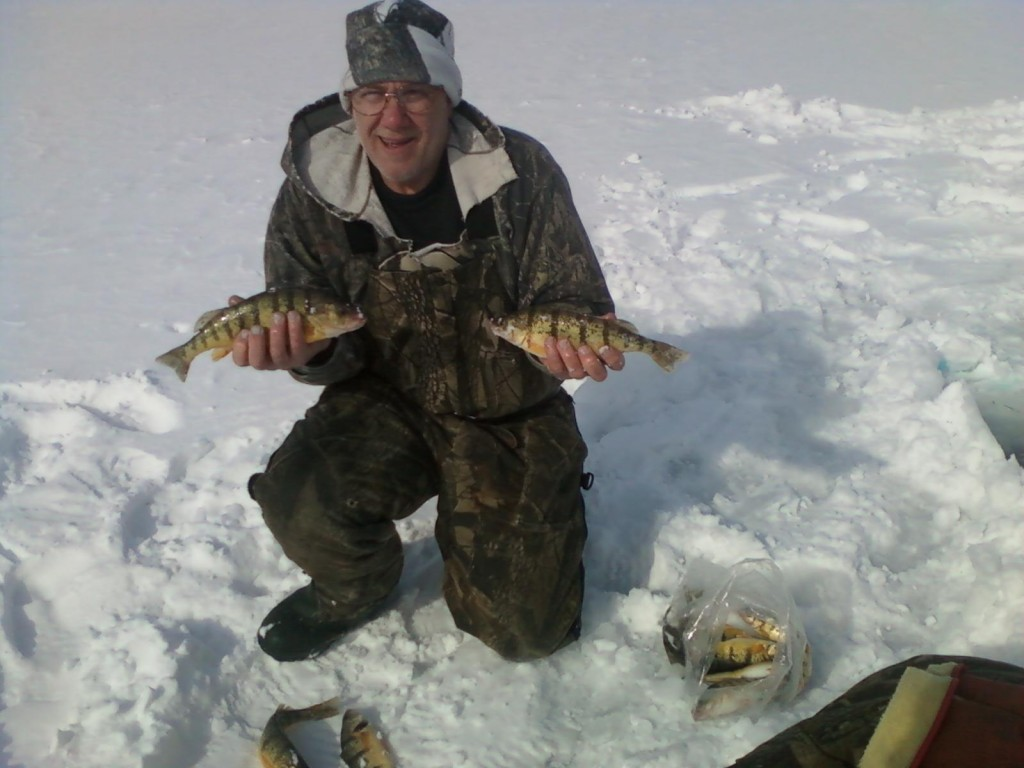 Ice fishing report for 3 15 13 michigan fishing report for Lake michigan perch fishing report