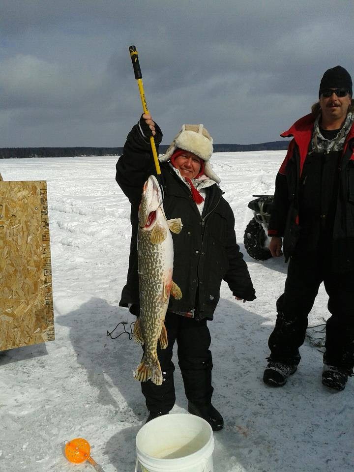 Northern michigan fishing report 2 21 13 michigan for Mi fishing report