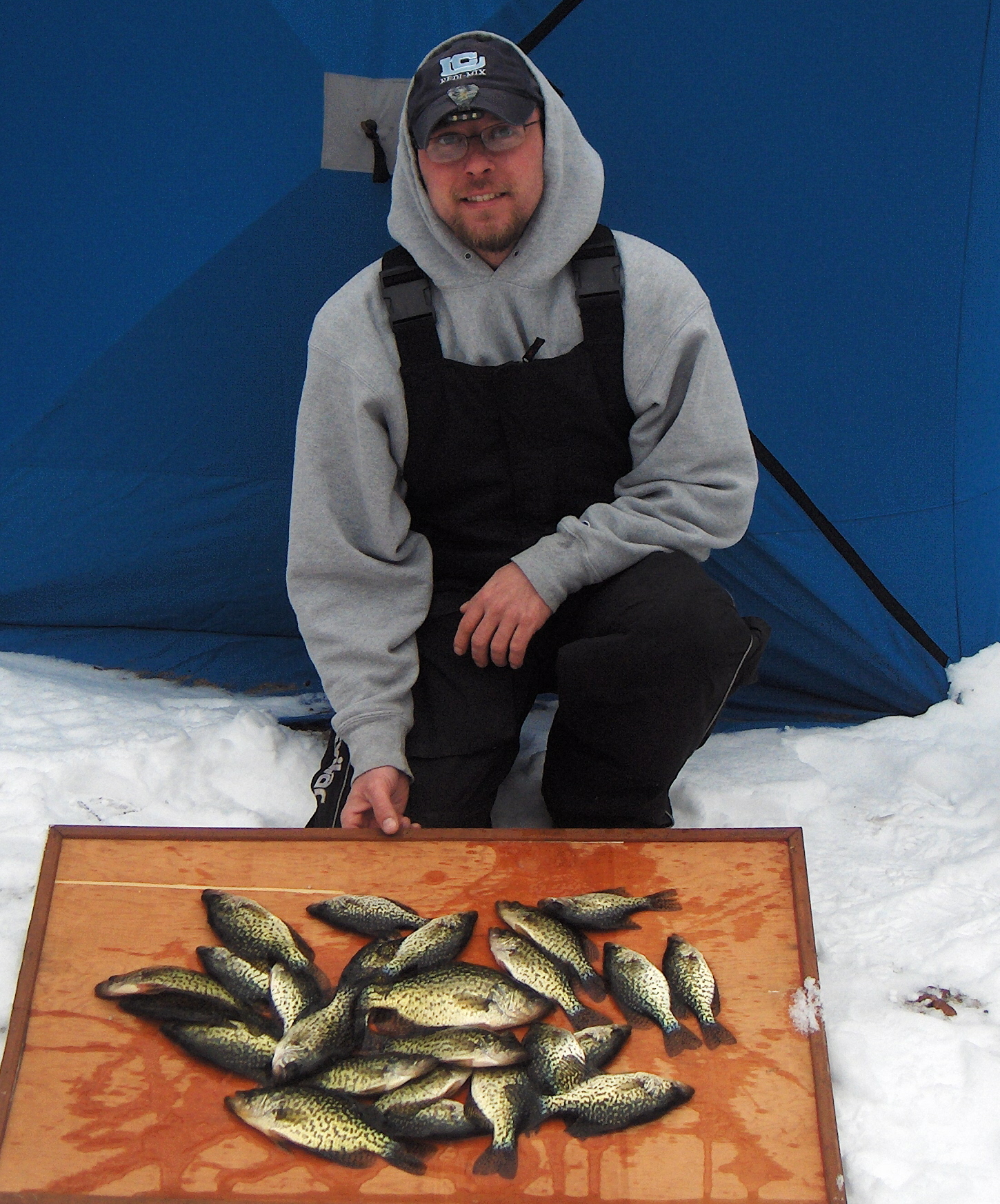 Fishing conditions on lakes cadillac and mitchell for Bucs fishing report
