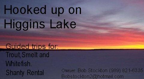hooked up on higgins lake