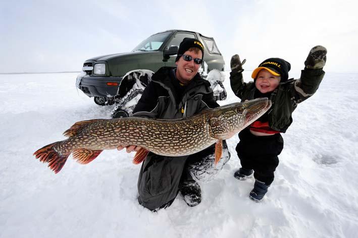 Inland Lakes Still Slow Michigan Fishing Report