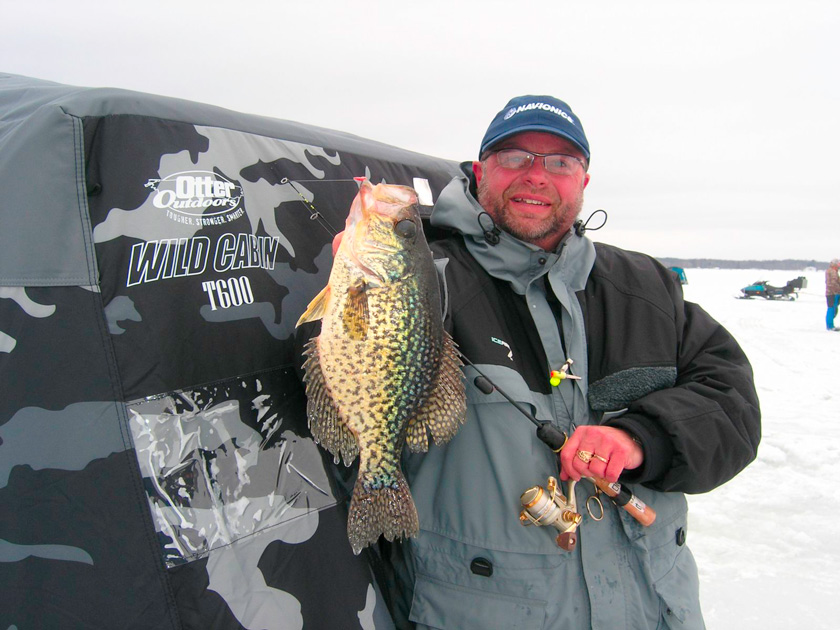 Mark Martin Ice Fishing School