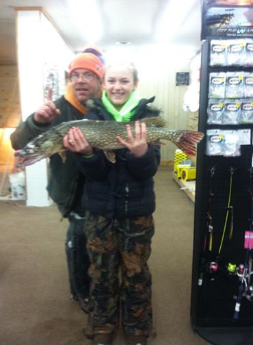 Emily's Pike from Houghton Lake