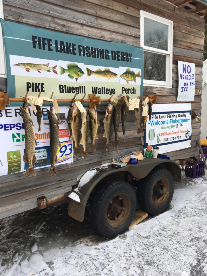 Fife Lake Ice Fishing Derby